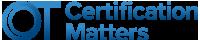 OT Certification Matters Logo