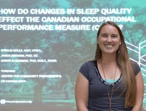 An OTR Helps Change Lives Through the Science of Sleep
